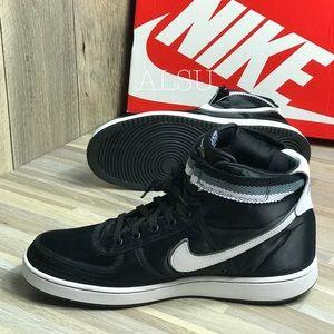 Nike Shoes - Nike Vandal High Supreme Black White Men's AUTHEN